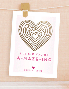 Time-Saving Valentine's Cards for Kids that cost less than $1 per card.