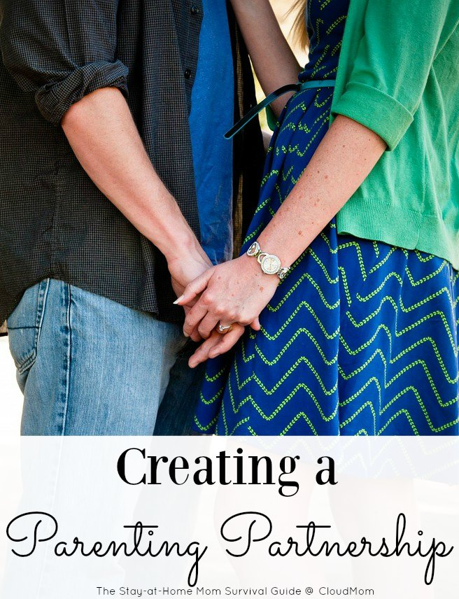 How to create a parenting partnership. These 4 main ideas helped my husband and I come together to form a parenting partnership after having our first child.