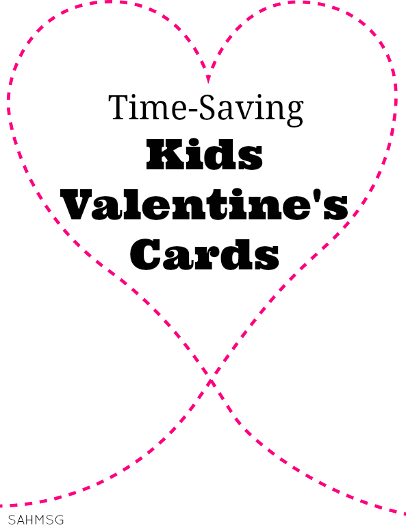 Save time-and keep stress away-with these cute time-saving Valentine's cards for kids! Personalized, coordinating stickers and so many options all without having to get crafty.