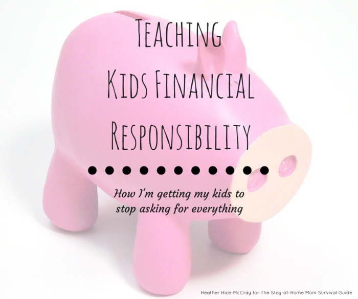 3 steps to teaching kids financial responsibility. These are practical and can start today!