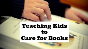 Teaching Children to Care for Books