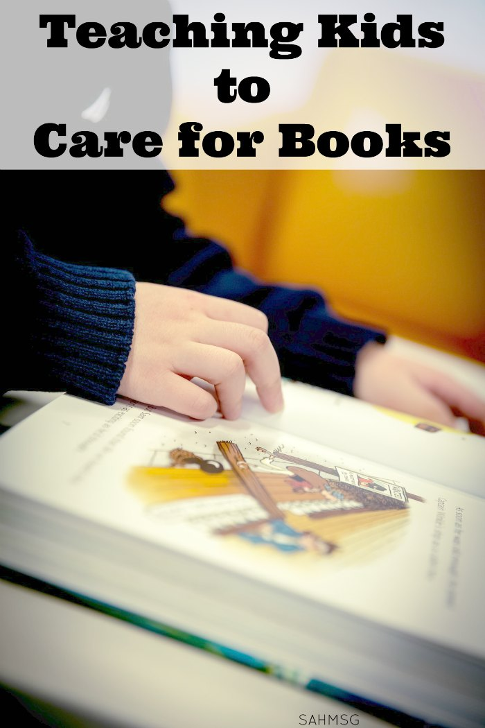 Children can be hard on books. Teaching children to care for books is important because part of good reading habits is teaching how to handle and treat books. This idea helps children learn that books can be repaired when they are damaged. It's a great Spring Cleaning task for kids to do too!