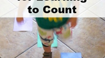 Number Path Learning to Count Activity