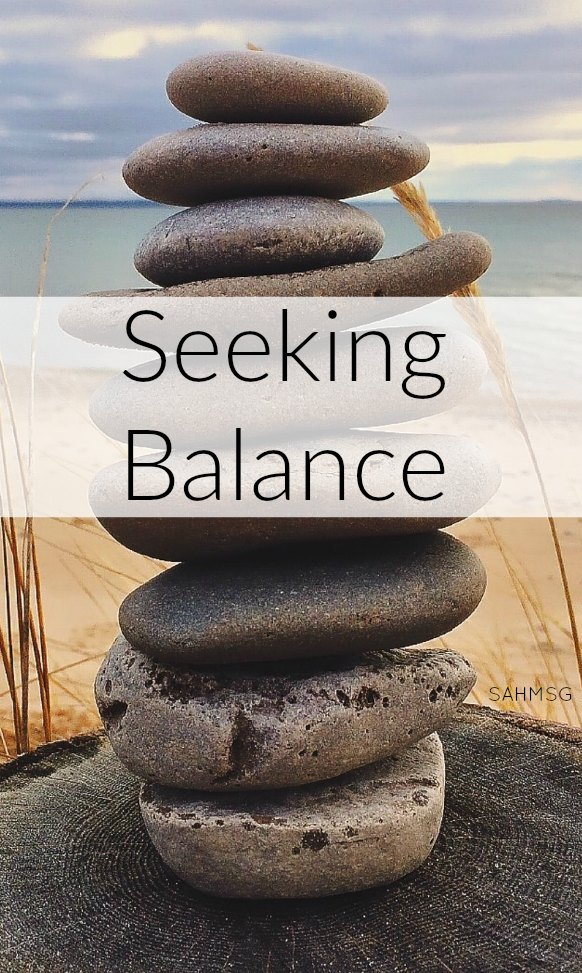 Moms seeking balance with all that is on your plate during motherhood.