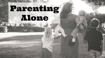 Tips for Parenting Alone