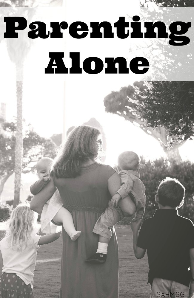 Tips for parenting alone whether you are a military family going through deployment , TAD, or field ops, your spouyse travels for work, or you are an expat family living in a foreign country, these tips for parenting alone will help you thrive and grow stronger during your time solo parenting.
