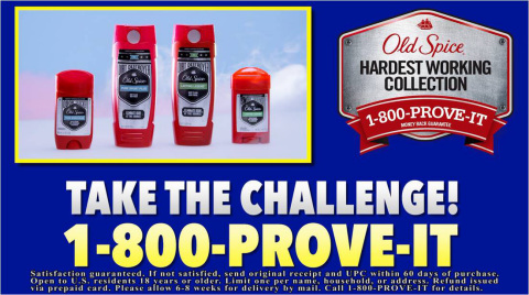 Gift ideas for dads: Old Spice Hardest Working Collection #sponsored