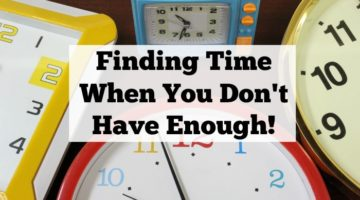 Finding Time When You Don't Have Enough