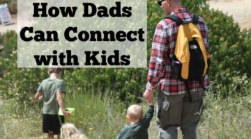 Those hard working dads need some recognition, and many need simple ways to connect with their kids. This list of ways dads can connect with kids is easy for any dad-even military dads and dads that travel for work-to be present and connect in meaningful ways. #sponsored