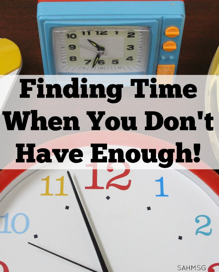 Trying to do it all every day and failing? Finding time when you don't have enough is frustrating. Check out tips from a mom who works and balances time at home with the kids by using these organization tips for time management.