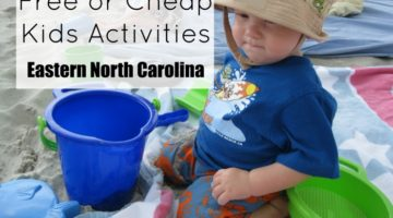 Free or Cheap Kids Activities in Eastern North Carolina