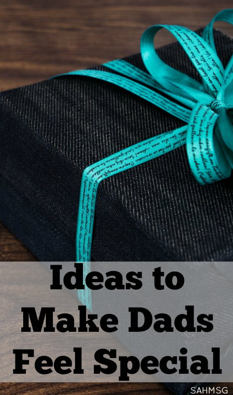 Make dads feel special with simple gift ideas that do not cost much and take very little prep time. #sponsored