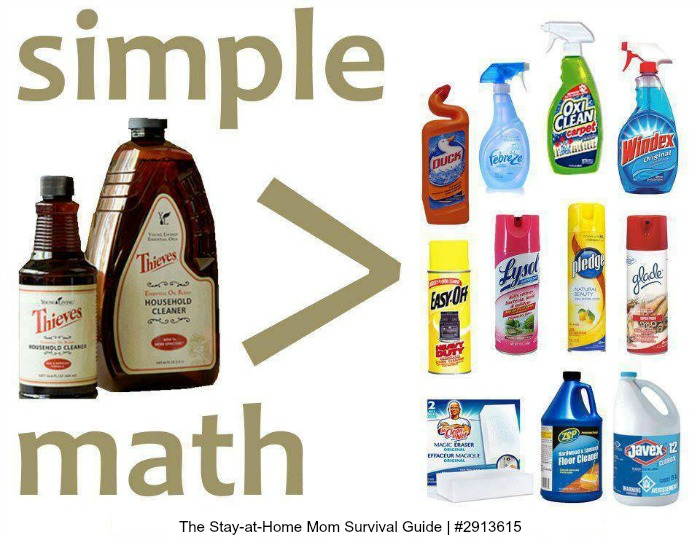 SAve money, simplify cleaning-use Thieves Cleaner for everything!
