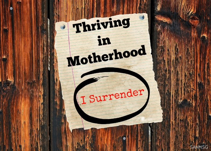 I thought thriving in motherhood would b eeasy. Before having kids I thought I knew it all. After one week with a newborn, I know I needed to learn more to thrive as a mom.