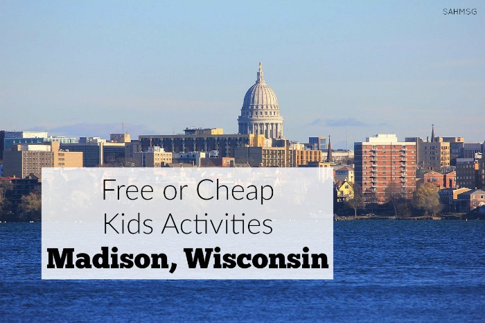 Free or cheap kids activities in Madison, Wisconsin. A resource from moms who have visited and lived in Madison. Grab this list for summer fun with kids in Madison, WI. Part of the Free or Cheap Kids Activities (by location) series.