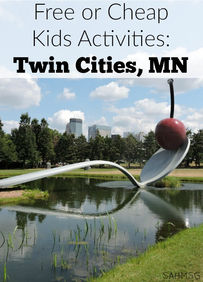 20 Best Free or Cheap Kids Activities in the Twin Cities, Minneapolis-St Paul, Minnesota.