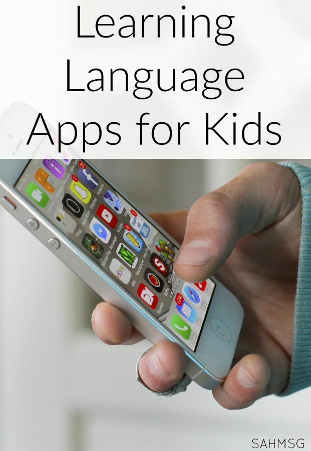 6 NEW Learning Language apps for kids can teach your child a second language at home. For use in homeschool, after school or as a homework supplement after school. These apps will easily teach your child to learn a second language.
