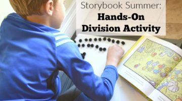 Hands-on division activity for the storybook A Remainder of One. This hands-on division activity for second or third grade is a great concrete learning activity for school age kids to explore division and multiplication concepts.