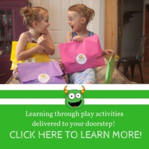 Preschool monthly activity box