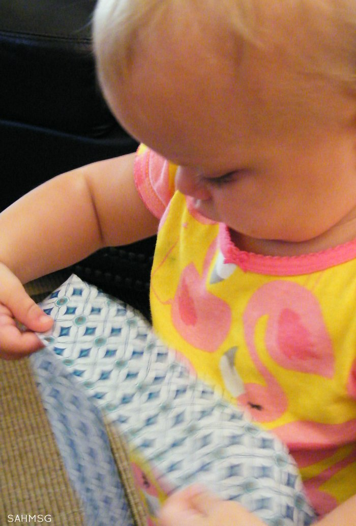 Tissue paper toddler activity-one item activity series.