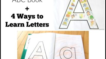 Printable ABC Book: Preschool Learning Activities