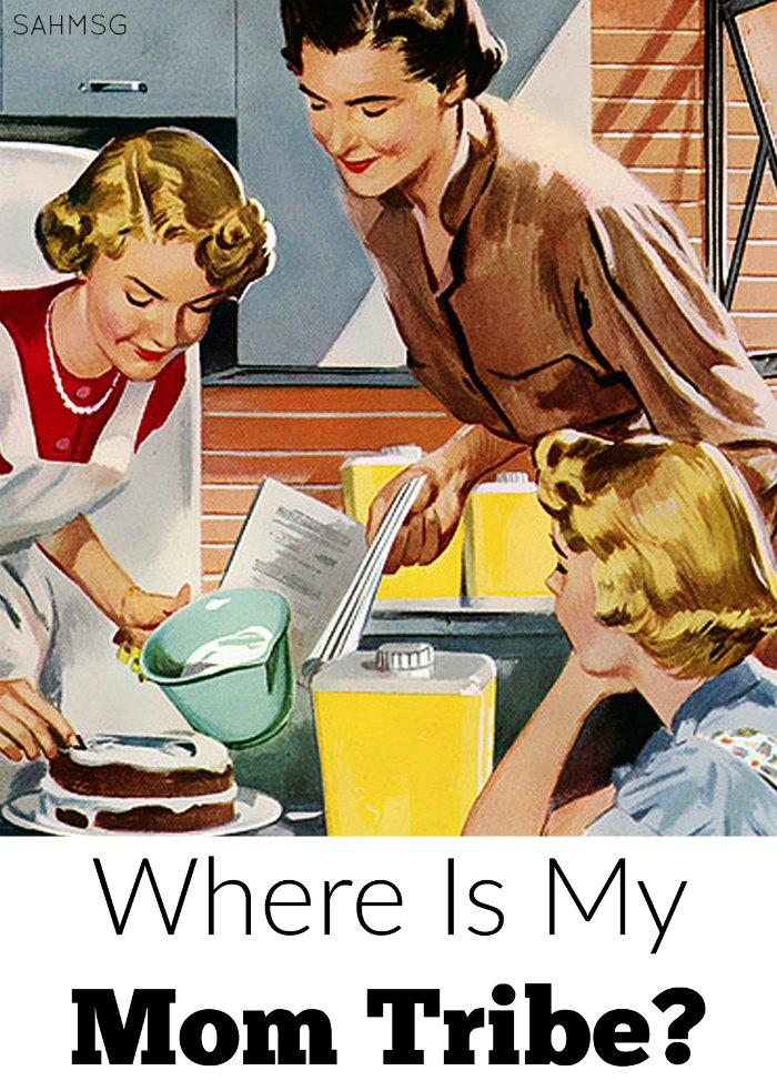 I am not one kind of mom. I fit into the working mom group, because I work at home. I fit into the stay-at-home mom group, because I am at home with my kids, but I can't find my group. Where is my mom tribe? Where do I fit?