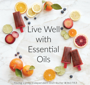 live well with citrus graphic Jessie
