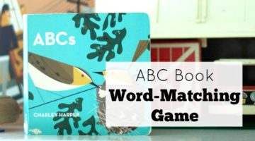 Pre-Reading Skills ABC Book Word-Matching Game