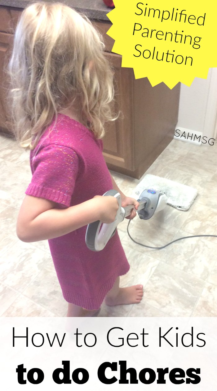 How do you get kids to do chores? A system that works. This plan educated parents on chore chart implementation and has step-by-step videos for teaching your children to love to do chores. #sponsored
