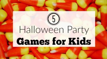 Five Halloween Party Games for Kids