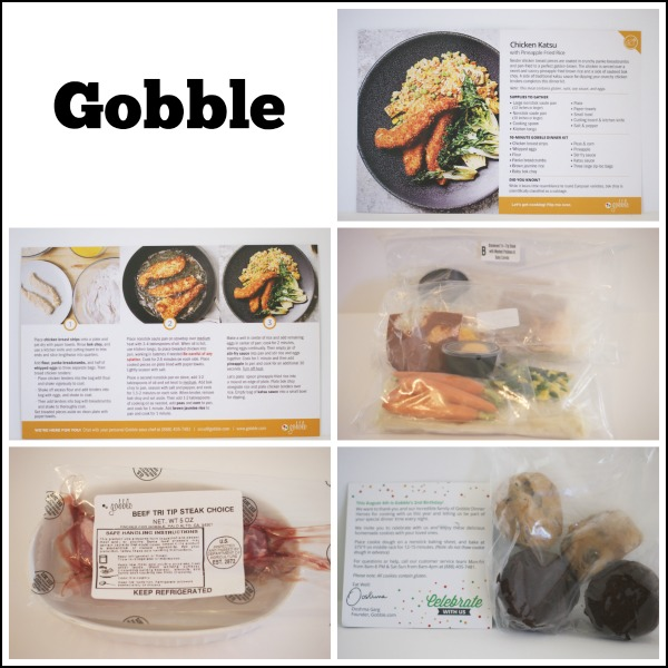 Gobble Meal Delivery Service