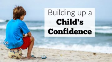 Building up a Child's Confidence