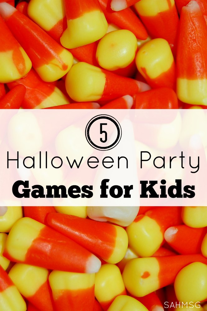 Five Halloween Party Games For Kids The Stay At Home Mom