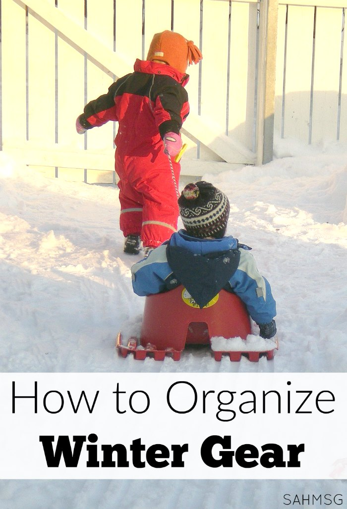 Before winter begins grab these tips to organize winter gear.
