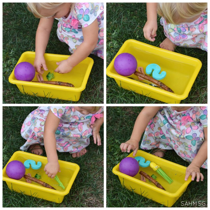 Toddlers Science: Sink and Float Activities.