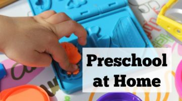 Teaching preschool at home does not require expensive curriculum at all. Simple activities that are developmentally appropriate will teach your child to love learning and prepare them to be readers when they enter kindergarten.