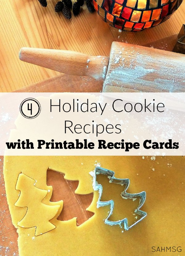 Enter the giveaway detailed in the post and grab these 4 holiday cookie recipes with free printable recipe cards. Homemaking Tips Tuesday will get you ready for the holidays!