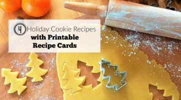 Four Holiday Cookie Recipes