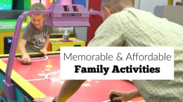 Big collection of affordable family activities for small or large families.