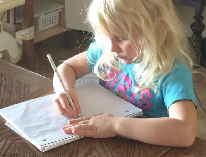How to use journal time in preschool.
