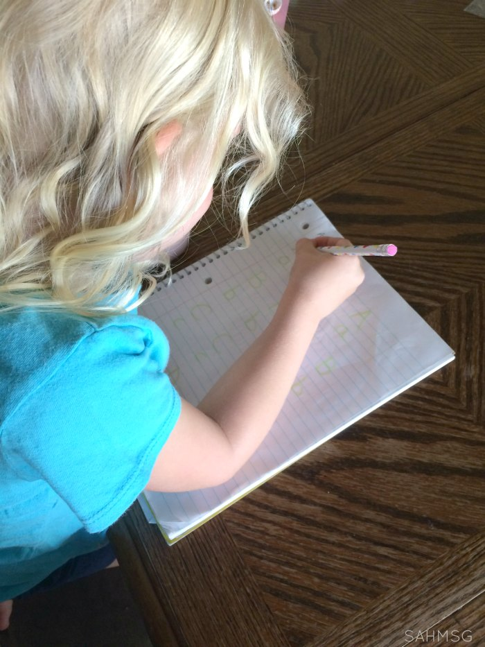 Using preschool journal time at home or in school.