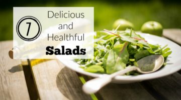Stick with your health and fitness goals by enhancing your diet. These 7 delicious and healthful salads are recipes filled with flavor that can boost your health.