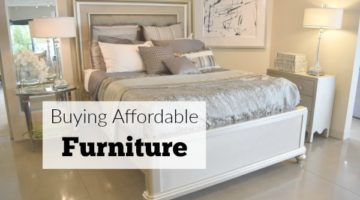 Buying Affordable Furniture