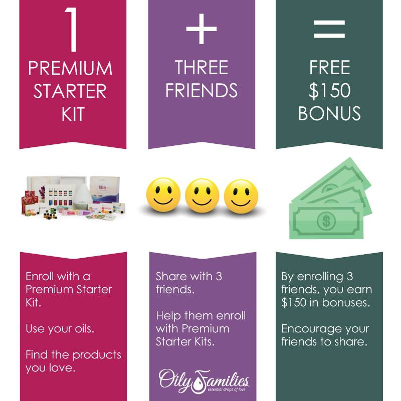 Work at home as an independent distributor with Young Living essential oils.
