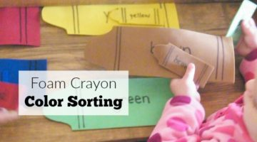 Crayon Color Sorting