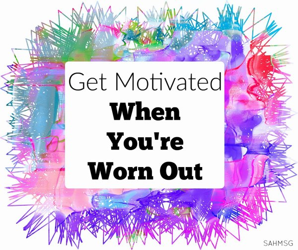 How do you get motivated when you are worn out and don't have an ounce of energy for your daily tasks? If you are a mom, this can be tough! Here are 5 ways I get motivated when I have those days where all I want to do is be lazy.