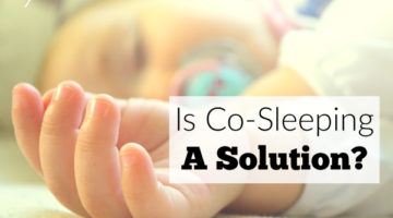 Is co-sleeping a solution? When your child has sleep issues it can be hard to know what to do.