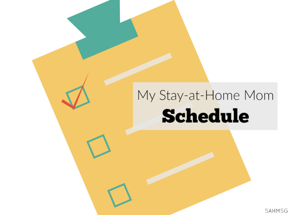 Why I put myself on a stay-at-home mom schedule.