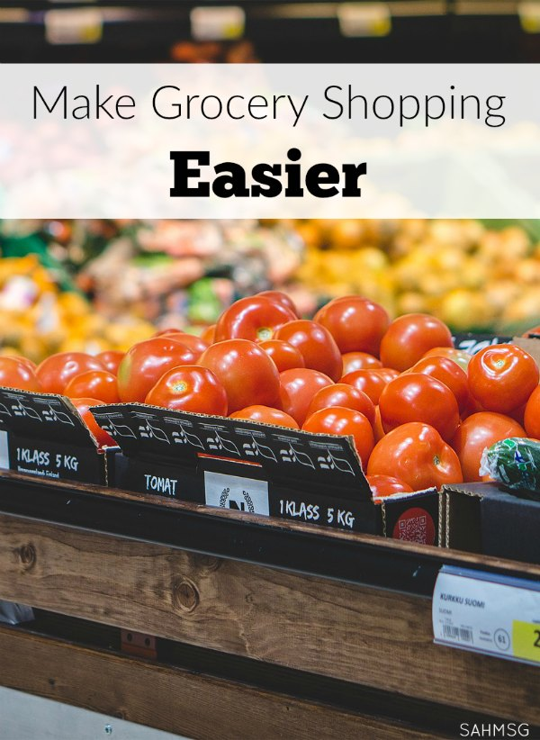 How to survive grocery shopping with kids! Make grocery shopping easier with these tips for preparing for a trip to the store with little kids in tow.