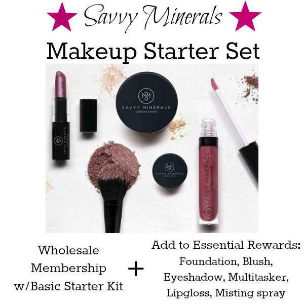Toxin-free makeup starter kit! No nano particles or any synthetic ingredients. You will pamper your skin and avoid harmful toxic ingredients. Beautiful natural colors and coverage.